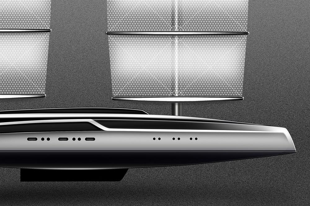 Dyna-Rig – 72m - ThirtyC Yacht Design