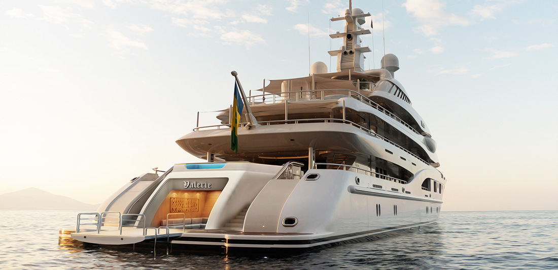 Beach Club Retrofit for (85.1M) M/Y VALERIE
